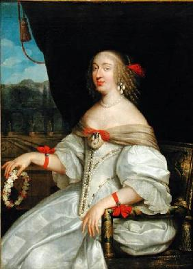 Portrait of Anne-Marie-Louise d'Orleans (1627-93) Duchess of Montpensier