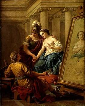 Apelles in Love with the Mistress of Alexander 1772