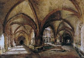The Cloisters of St. Wandrille c.1825-30