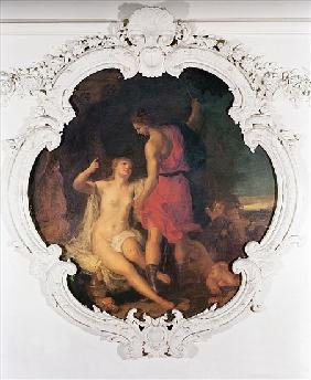 Venus and Adonis, from the Salle de Conseil