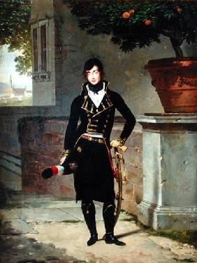 Portrait of an Officer of the Cisalpine Republic 1801