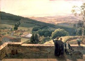 View of Vallombrosa, near Florence