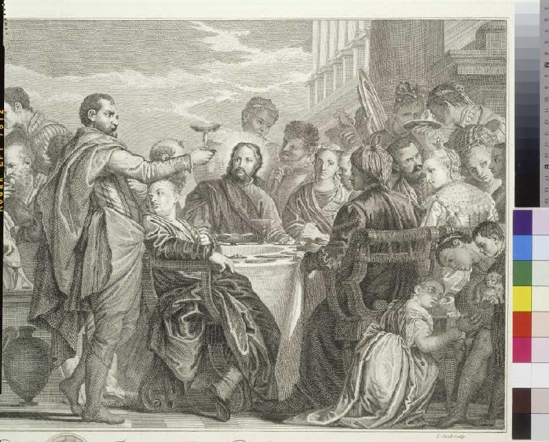Die Hochzeit Zu Kana Louis Jacob Als Kunstdruck Oder Handgemaltes