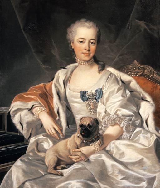 princess ekaterina golitsyna 1720 91 louis michel van loo als kunstdruck oder handgemaltes. Black Bedroom Furniture Sets. Home Design Ideas