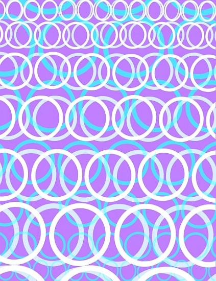 Citaten Rond Kunst : Round cirlces louisa hereford als kunstdruck oder