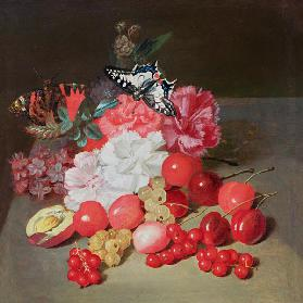 Still Life with Butterflies (attributed)