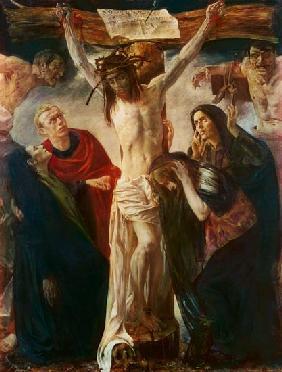 Kunstdruck von Lovis Corinth - Kreuzigung