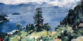 Kunstdruck von Lovis Corinth - Walchensee-Panorama
