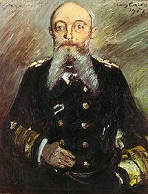 Kunstdruck von Lovis Corinth - Alfred von Tirpitz.