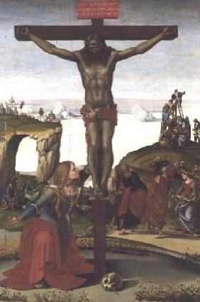 Crucifixion with Mary Magdalene c.1505
