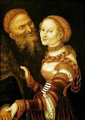 The Courtesan and the Old Man c.1530