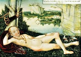 The River Nymph Resting c.1530