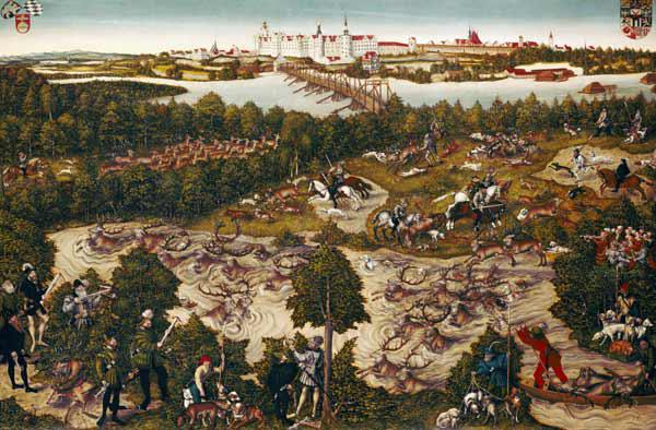 "The Stag Hunt of Elector John Frederick the ""Magnanimous"" 1544"