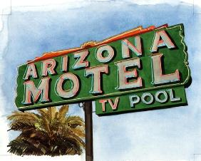 Arizona Motel on 6th Avenue