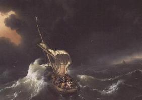 Christ in the Storm on the Sea of Galilee 1695