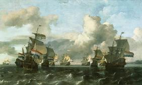 The Dutch Fleet of the India Company 1675