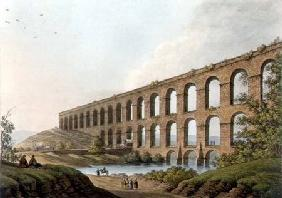 Aqueduct near Belgrade, Serbia, plate 6 from 'Views in the Ottoman Dominions', pub. by R. Bowyer 1809