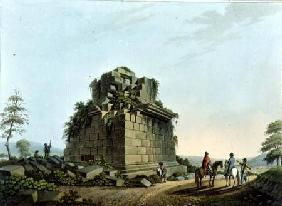 The Base of a Colossal Column near Syracuse, plate 28 from 'Views in the Ottoman Dominions', pub. by 1809