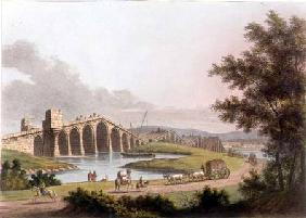 Ponte Grande in Romania, plate 10 from 'Views in the Ottoman Dominions', pub. by R. Bowyer 1809
