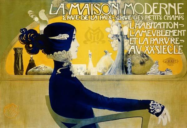 La Maison Moderne, c.1902 - Manuel Orazi als Kunstdruck oder ...