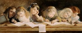 The Writing Lesson 1880