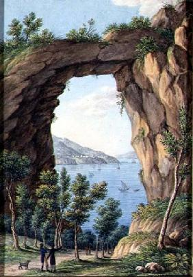 View in Southern Italy 1824  on
