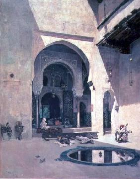 Kunstdruck von Mariano Fortuny - The Court of the Alhambra