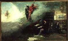 Kunstdruck von Mariano Fortuny - Recalling the Faust Fantasy