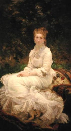 The Woman in White c.1880