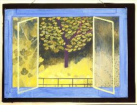 The Chestnut Tree, 1987 (acrylic on board)