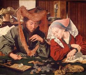 The Money Changer and his Wife 1539