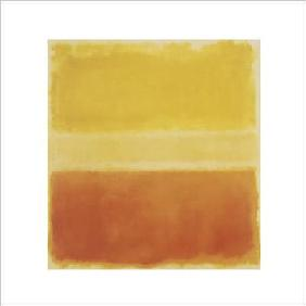 Rothko, Mark : Yellow and Gold  - (MKR-22...