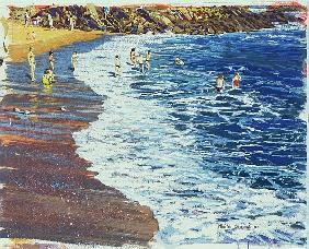 Breakers, 2002 (w/c & gouache on paper)