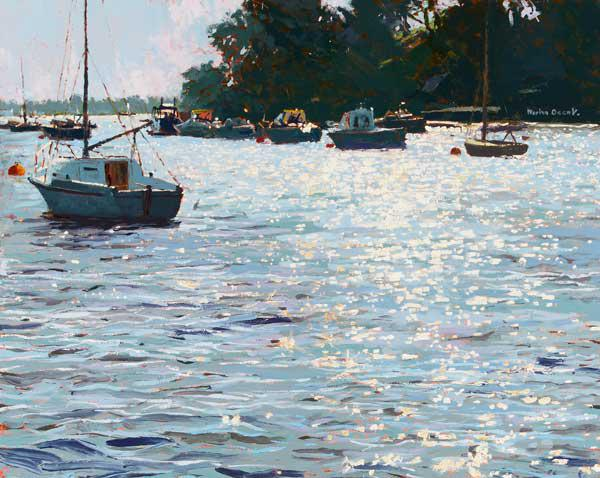 Morning Tide, 2006 (oil on board)