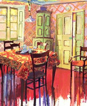 Morning Room, 2000 (acrylic on canvas)