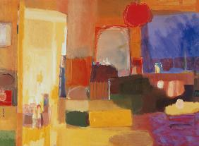 The Changing Room, 2000 (acrylic on canvas)  2000