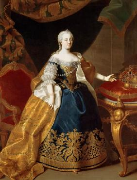 Portrait of the Empress Maria Theresa of Austria (1717-80)