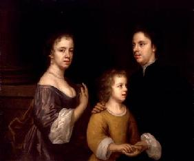 Self Portrait with Husband and Son c.1659-60