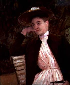 Celeste in a Brown Hat 1891