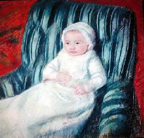 Child on a Sofa, Miss Lucie Berard stel on