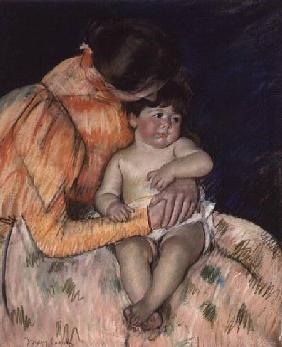 Mother and Child 1890s stel