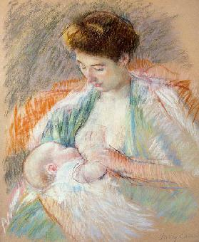 Mother Rose Nursing Her Child c.1900