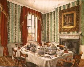 Our Dining Room at York 1838