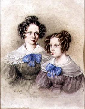 Portrait of the Wake Sisters 1834  and