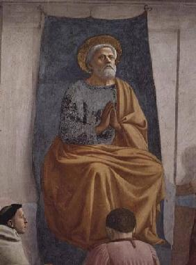 St. Peter Enthroned as First Bishop of Antioch c.1427