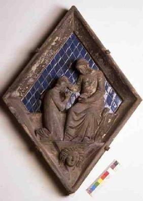 Penitence, relief tile from the Campanile