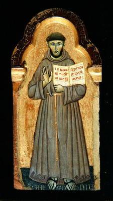 St. Francis, 1272 (tempera on panel) 1909