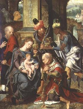 The Adoration of the Magi 1530