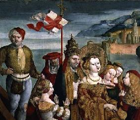 The Legend of St. Ursula c.1530