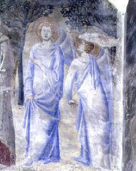 Angels from the Chapel of St. Jean 1347
